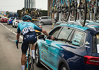 Jakob Fuglsang (DEN/Astana - Premier Tech)<br /> <br /> 85th La Flèche Wallonne 2021 (1.UWT)<br /> 1 day race from Charleroi to the Mur de Huy (BEL): 194km<br /> <br /> ©kramon