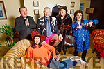 """Launching their play """"Separate Beds"""" in the Community Centre in Knocknagoshel on Saturday.<br /> Noreen O'Callaghan laying down on the couch and standing l to r Freddie Brown (Most Reverend), Bertie Hickey (Mr Paint), Mairead Brosnan and Josephine Roche."""