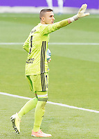 Real Valladolid's Jordi Masip during La Liga match. July 11,2020. (ALTERPHOTOS/Acero)<br /> 11/07/2020<br /> Liga Spagna 2019/2020 <br /> Valladolid - Barcelona <br /> Foto Alterphotos / Insidefoto <br /> ITALY ONLY
