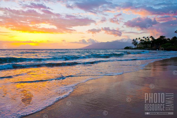 Sunset, Wailea Beach, Maui