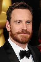 HOLLYWOOD, CA, USA - MARCH 02: Michael Fassbender at the 86th Annual Academy Awards held at Dolby Theatre on March 2, 2014 in Hollywood, Los Angeles, California, United States. (Photo by Xavier Collin/Celebrity Monitor)