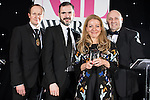 © Joel Goodman - 07973 332324 . 02/03/2017 . Manchester , UK . Team of the Year – Family - Irwin Mitchell . The Manchester Legal Awards at the Midland Hotel . Photo credit : Joel Goodman
