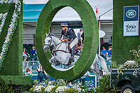 NZL-Andrew Nicholson rides Swallow Springs during the Cross Country. Interim-5th. 2018 GBR-Land Rover Burghley Horse Trials CCI4*. Saturday 1 September. Copyright Photo: Libby Law Photography