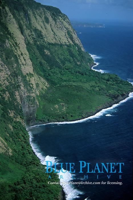 coastline of Big Island, Kona, Hawaii, Pacific Ocean