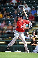 Minnesota Twins infielder James Beresford (30) during a Spring Training game against the Pittsburgh Pirates on March 13, 2015 at McKechnie Field in Bradenton, Florida.  Minnesota defeated Pittsburgh 8-3.  (Mike Janes/Four Seam Images)
