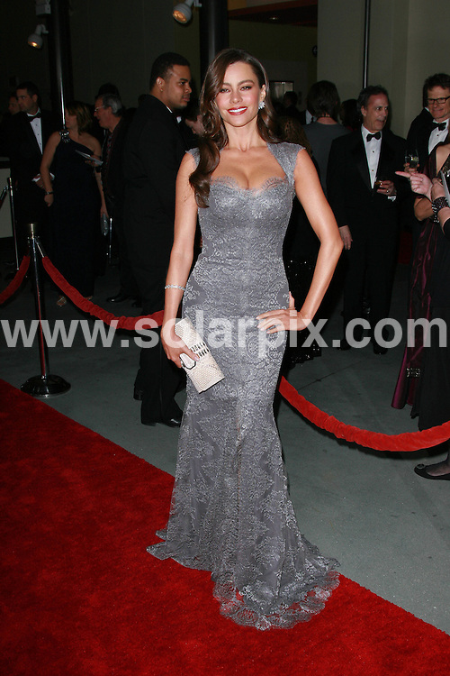 **ALL ROUND PICTURES FROM SOLARPIX.COM**                                             **SYNDICATION RIGHTS FOR UK, AUSTRALIA, DENMARK, PORTUGAL, S. AFRICA, SPAIN & DUBAI (U.A.E) & ASIA (EXCLUDING JAPAN) ONLY**                                                                                  Caption: 63rd Annual DGA Awards - Arrivals at The Grand Ballroom at Hollywood & Highland Center in Hollywood CA USA                                                                              This pic:  Sofia Vergara                                                                                            JOB REF: 12729       PHZ       DATE: 29.01.2011                                                           **MUST CREDIT SOLARPIX.COM OR DOUBLE FEE WILL BE CHARGED**                                                                      **MUST AGREE FEE BEFORE ONLINE USAGE**                               **CALL US ON: +34 952 811 768 or LOW RATE FROM UK 0844 617 7637**