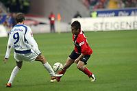 JUnichi Inamoto (Eintracht) gegen Stanislav Sestak (Bochum)<br /> Eintracht Frankfurt vs. VfL Bochum, Commerzbank Arena<br /> *** Local Caption *** Foto ist honorarpflichtig! zzgl. gesetzl. MwSt. Auf Anfrage in hoeherer Qualitaet/Aufloesung. Belegexemplar an: Marc Schueler, Am Ziegelfalltor 4, 64625 Bensheim, Tel. +49 (0) 6251 86 96 134, www.gameday-mediaservices.de. Email: marc.schueler@gameday-mediaservices.de, Bankverbindung: Volksbank Bergstrasse, Kto.: 151297, BLZ: 50960101