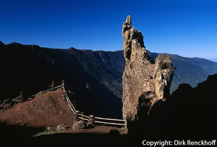 Mirador de Jinama, El Hierro, Kanarische Inseln, Spanien