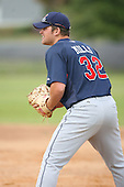 March 20th 2008:  Beau Mills of the Cleveland Indians minor league system during Spring Training at Chain of Lakes Training Complex in Winter Haven, FL.  Photo by:  Mike Janes/Four Seam Images