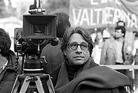 - The director and screenwriter Luigi Magni during a demonstration in Rome in March 1984<br /> <br /> - Il regista e sceneggiatore Luigi Magni  durante una manifestazione a Roma nel marzo 1984