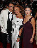 """NEW YORK CITY, NY, USA - MAY 05: David O. Russell, Diane Von Furstenberg, Selena Gomez at the """"Charles James: Beyond Fashion"""" Costume Institute Gala held at the Metropolitan Museum of Art on May 5, 2014 in New York City, New York, United States. (Photo by Xavier Collin/Celebrity Monitor)"""