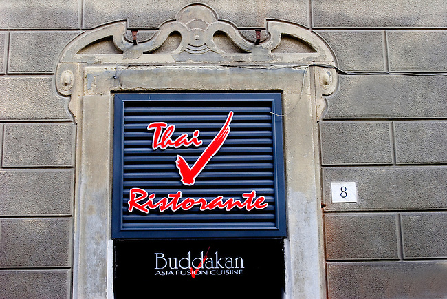 Exterior, Buddakan Thai Restaurant, Florence, Tuscany, Italy