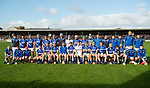 The Cratloe team before the county senior hurling final against Ballyea at Cusack Park. Photograph by John Kelly.