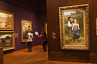 Amérique/Amérique du Nord/Canada/Québec/Montréal: Musée des Beaux Arts,  rue Sherbrooke. Parure des champs, tableau de William Bouguereau