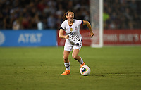 PASADENA, CALIFORNIA - August 03: Kelley O'Hara #5 during their international friendly and the USWNT Victory Tour match between Ireland and the United States at the Rose Bowl on August 03, 2019 in Pasadena, CA.