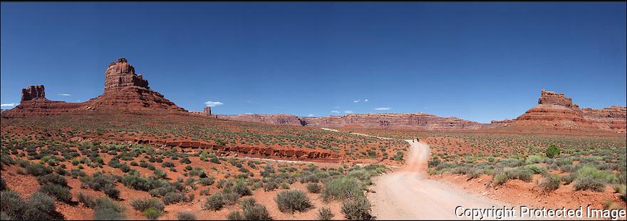 Utah-Route 66<br /> Vallée des Dieux