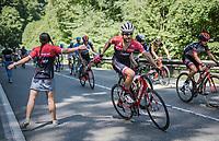 musette for Fumy Beppu (JAP/Trek-Segafredo)<br /> <br /> stage 7: Aoste > Alpe d'Huez (168km)<br /> 69th Critérium du Dauphiné 2017