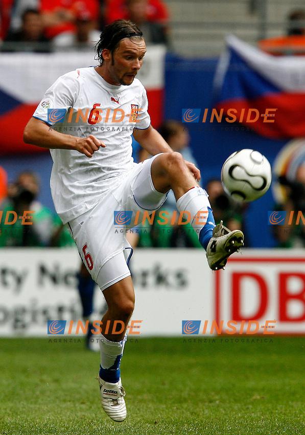HAmburg 22/6/2006 World Cup 2006.Repubblica Ceca Italia 0-2 0-2.Photo Andrea Staccioli Insidefoto.Marek Jankulovski Czech Republic