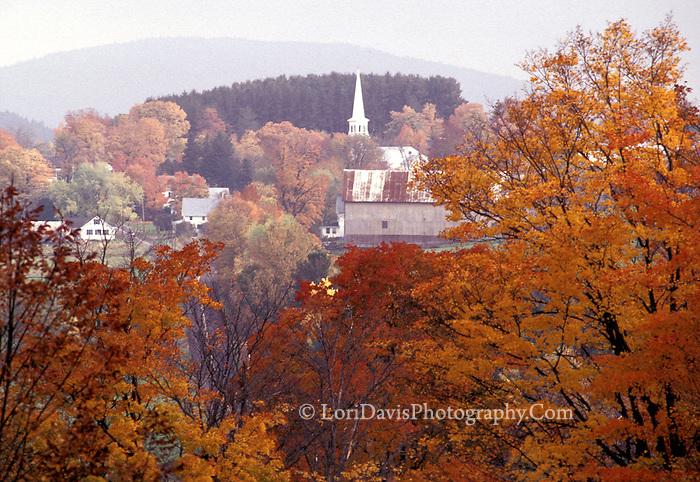Autumn View, Peacham, VT