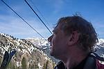 Ciampac Ski Area in the Dolomites, Canazei, Italy,