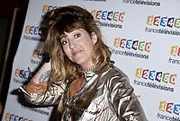 Photocall de la conference de presse de France Télévisions - Daphné Burki