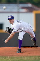 Starting pitcher Justin Edwards #13 of the Winston-Salem Dash in action versus the Frederick Keys at Wake Forest Baseball Stadium August 8, 2009 in Winston-Salem, North Carolina. (Photo by Brian Westerholt / Four Seam Images)