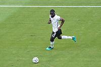 Antonio Rüdiger (Deutschland Germany)<br /> - Muenchen 19.06.2021: Deutschland vs. Portugal, Allianz Arena Muenchen, Euro2020, emonline, emspor, <br /> <br /> Foto: Marc Schueler/Sportpics.de<br /> Nur für journalistische Zwecke. Only for editorial use. (DFL/DFB REGULATIONS PROHIBIT ANY USE OF PHOTOGRAPHS as IMAGE SEQUENCES and/or QUASI-VIDEO)