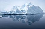 Banquise et icebergs à côté de Tiniteqilaq. Groënland (côte Est). Région d'Angmagssalik (Ammasalik ou Tassilaq). icebergs and ice floe nearby Tiniteqilaq Greenland (East coast).