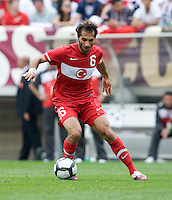 Hamit Altintop. The USMNT defeated Turkey, 2-1, at Lincoln Financial Field in Philadelphia, PA.