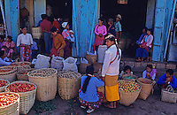 Rural Markets in northern Myanmar/Burma in 1996
