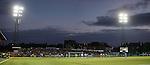 Rangers fans enjoying a fine night at Palmerston Park
