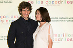 "The actors Quim Gutierrez and EMMANUELLE BEART attend the photocall at the presentation of the movie ""Los Ojos Amarillos De Los Cocodrilos"" at Santo Mauro Hotel in Madrid, Spain. April 30, 2014. (ALTERPHOTOS/Carlos Dafonte)"