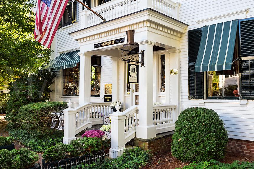 The Charlotte Inn, Edgartown, Martha's Vineyard, Massachusetts, USA