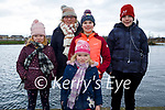 Enjoying a stroll in the Tralee Bay Wetlands on Friday, l to r: Holly, Leia, Kerry, Amber and Reece Long.