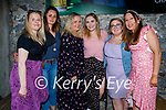 Enjoying the evening in Benners on Saturday, l to r: Patricia Kennedy, Niamh Kennedy, Elaine Dold, Aisling Hanlon, Rebecca Coffey and Marion Casey.