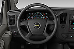 Car pictures of steering wheel view of a 2020 Chevrolet Express-Cargo WT 4 Door Cargo Van Steering Wheel
