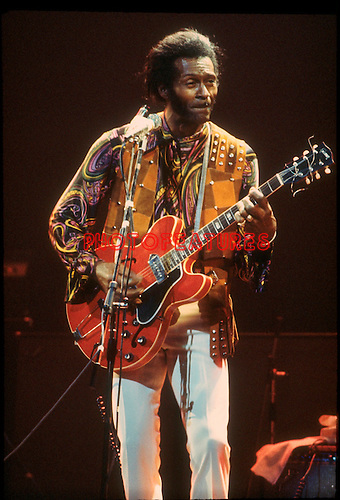 Chuck Berry 1973.© Chris Walter..