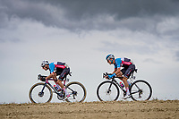 Michael Woods (CAN/EF) & Alexander Cataford (CAN)<br /> <br /> Men's Elite Road Race from Imola to Imola (258km)<br /> <br /> 87th UCI Road World Championships 2020 - ITT (WC)<br /> <br /> ©kramon
