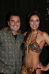 Another World's Christopher Knight (Brady Bunch) & wife Adrianne Curry appear at Big Apple Comic Con for autographs and photos on October 16 (and 17 & 18), 2009 at Pier 94, New York City, New York. (Photo by Sue Coflin/Max Photos)