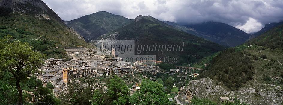 Europe/France/Provence-Alpes-Côtes d'Azur/06/Alpes-Maritimes/Alpes-Maritimes/Arrière Pays Niçois/Tende: Le village