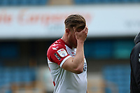Tomas Kalas of Bristol City comes off after full time looking disappointed during Millwall vs Bristol City, Sky Bet EFL Championship Football at The Den on 1st May 2021