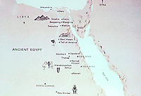 Map of Ancient Egypt.