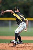 Pittsburgh Pirates pitcher Austin Coley (35) during an Instructional League game against the Tampa Bay Rays on September 27, 2014 at the Charlotte Sports Park in Port Charlotte, Florida.  (Mike Janes/Four Seam Images)