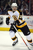 February 17th 2007:  Brad Boyes (26) of the Boston Bruins skates up ice vs. the Buffalo Sabres at HSBC Arena in Buffalo, NY.  The Bruins defeated the Sabres 4-3 in a shootout.