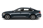 Car Driver side profile view of a 2019 KIA K900 Luxury 4 Door Sedan Side View