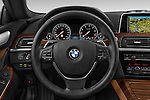 Car pictures of steering wheel view of a 2015 BMW 6 Series Experience 2 Door Coupe Steering Wheel