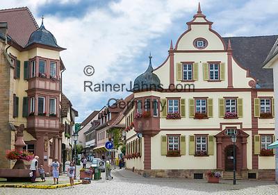 Deutschland, Rheinland-Pfalz, Suedliche Weinstrasse, Bad Bergzabern: das Alte Rathaus | Germany, Rhineland-Palatinate, Southern Wine Route, Bad Bergzabern: the Old Townhall