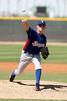 Danny Gutierrez - Texas Rangers 2009 Instructional League.Photo by:  Bill Mitchell/Four Seam Images..
