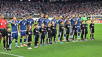 Houston, TX - Tuesday June 21, 2016: Argentina, Escort Kids prior to a Copa America Centenario semifinal match between United States (USA) and Argentina (ARG) at NRG Stadium.