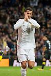 Real Madrid's Cristiano Ronaldo celebrating a goal during La Liga match. March 20,2016. (ALTERPHOTOS/Borja B.Hojas)